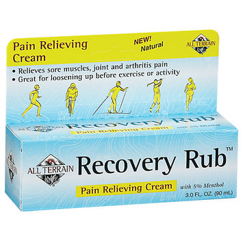 All Terrain Recovery Rub - 3 Ounces Cream - Muscle & Joint Health