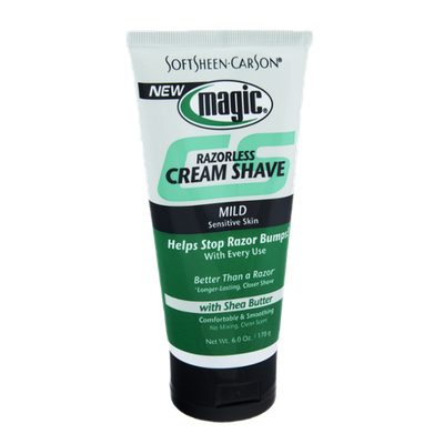 SoftSheen Carson Magic Mild Sensitive Skin Razorless Cream Shave