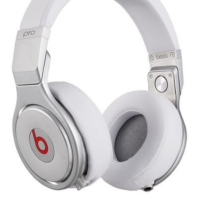 Beats by Dr Dre Pro Over Ear Headphone - White