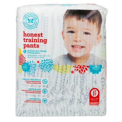 The Honest Company Honest Training Pants Airplane - Size 2T/3T (26 Count)
