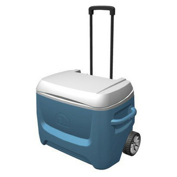 Igloo Island Breeze Maxcold 50 Quart Roller Cooler