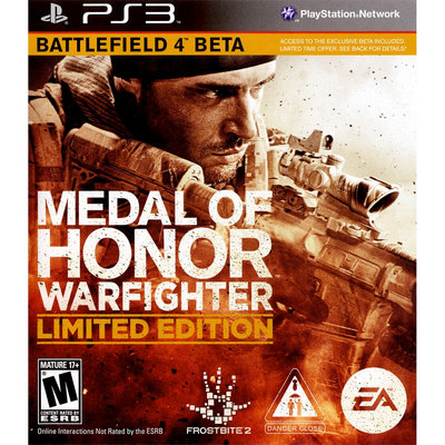 Electronic Arts Medal of Honor: Warfighter PRE-OWNED (PlayStation 3)