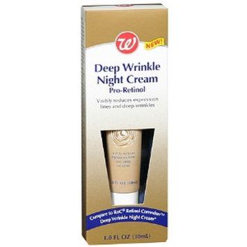 Walgreens Deep Wrinkle Night Cream