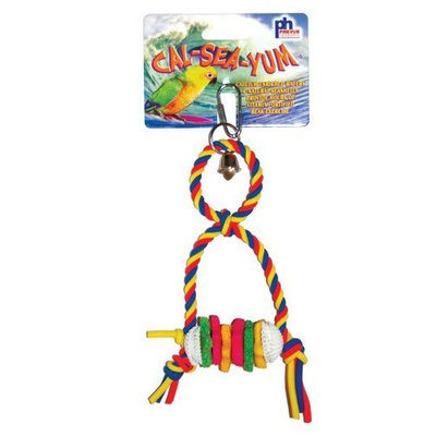 Prevue Hendryx Cal Sea Yums Horse Bird Toy