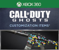 Activision Inc. Call of Duty Ghosts 1987 Personalization Pack