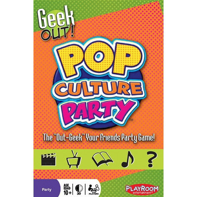 Publisher Services Inc Geek Out Pop Culture Party