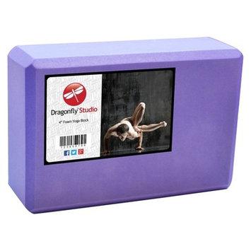 Dragonfly Yoga DragonFly Studio 4' Foam Block - Purple