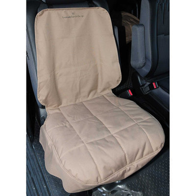 Petego Motor Trend Front Dog Car Seat Protector Color: Tan