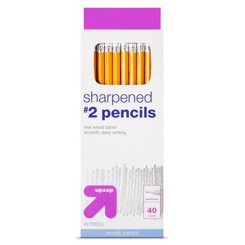 Pencil 40 ct No. 2 2.05mm up & up