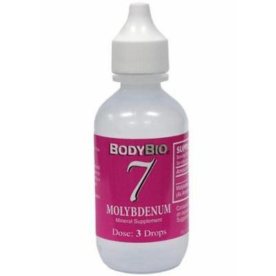 BodyBio , Molybdenum #7 Liquid Mineral , 2oz.