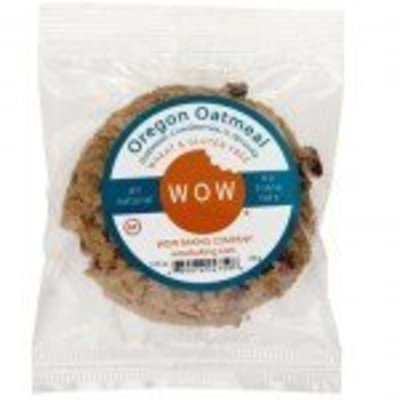 Wow Baking Company WOW Baking- Oregon Oatmeal Cookie, All Natural, Wheat & Gluten Free