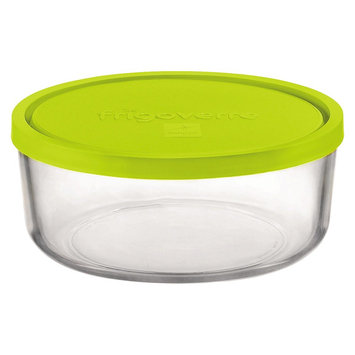 Bormioli Rocco Frigoverre Multi 22 oz. Round Medium Glass Bake and Serve Storage Container