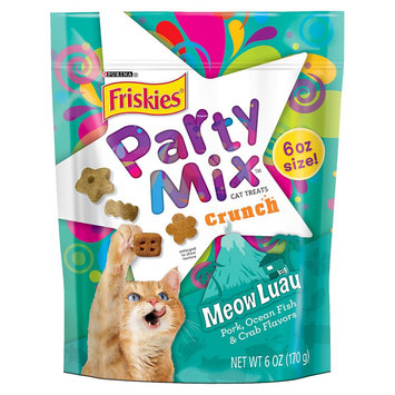 Friskies® Party Mix Crunch Meow Luau