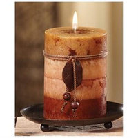 CC Home Furnishings Pack of 4 Naturals Harmony Aromatherapy Scented Pi