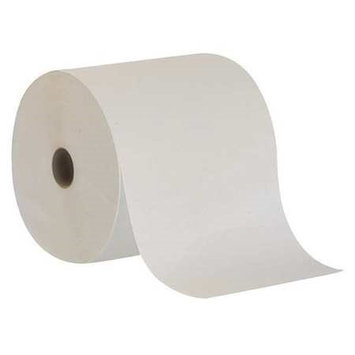 TOUGH GUY 38X643 Paper Towel Roll, White,800 Ft, PK6