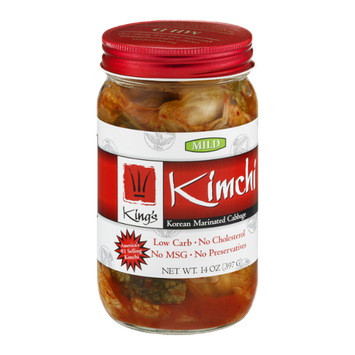 King's Kimchi Korean Marinated Cabbage Mild