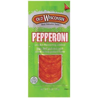 Old Wisconsin Wisconsin Sliced Pepperoni, 16-Count Packages (Pack of 2)