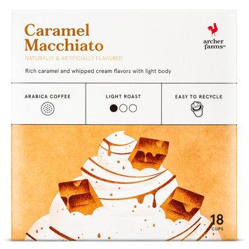 Mother Parkers Tea & Coffee Inc. Archer Farms Caramel Macchiato K-Cup pods 18 ct