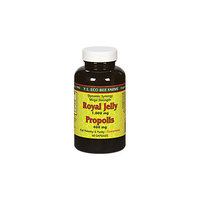 YS Royal Jelly/Honey Bee Royal Jelly Propolis Mega Strentgh - 60 Capsules - Bee Products