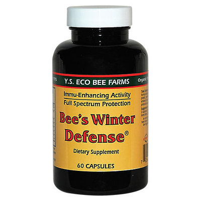 YS Royal Jelly/Honey Bee Bee'S Winter Defense - 60 Capsules - Immune Support Herbs