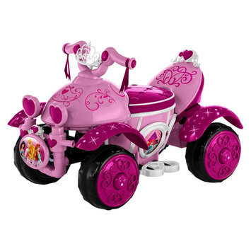Pacific Cycle Disney Princess Ride On Quad 6V