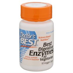 Doctor's Best, Best Digestive Enzymes All Vegetarian 10 Veggie Caps