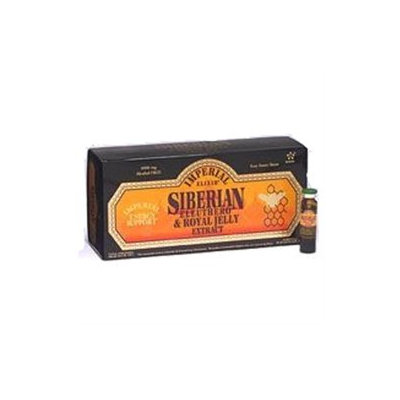 Imperial Elixir, Siberian Eleuthero & Royal Jelly Extract, Alcohol