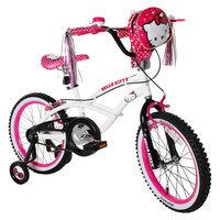Hello Kitty Girl's Bike - White/Pink (18