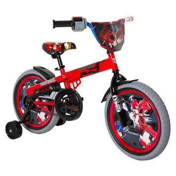 Chitech Transformers Boy's Optimus Prime Bike - Red/ Grey (16