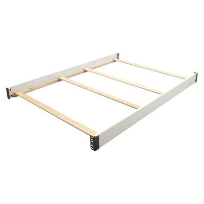 Simmons Kids Wooden Bed Rail - White