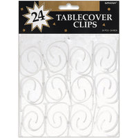Amscan 348531 Tablecover Clips