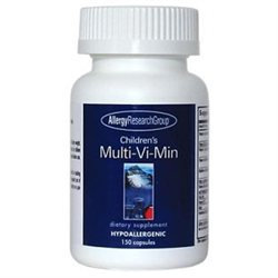 Allergy Research nutricology Allergy Research Group Children's Multi-Vi-Min - 150 Capsules