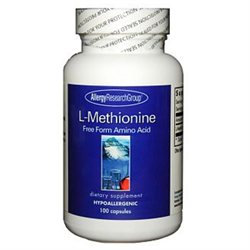 Allergy Research Group L-Methionine - 500 mg - 100 Capsules