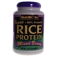 Nutribiotic - Vegan Rice Protein Mixed Berry - 1.5 lbs.