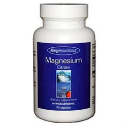 Allergy Research Group Magnesium Citrate - 170 mg - 90 Capsules