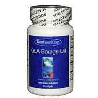 Allergy Research nutricology Allergy Research (Nutricology) Gla Borage Oil - 30 Softgels - Borage Oil / GLA