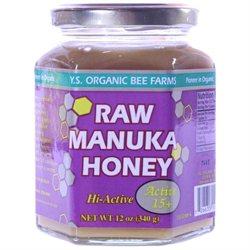 Ys Royal Jelly/honey Bee Y.S. Organic Bee Farms, Raw Manuka Honey 12 oz