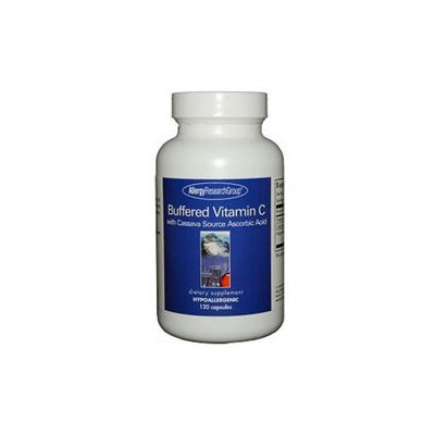 Allergy Research nutricology Allergy Research Group, Buffered Vitamin C Cassava Source 120 vegetarian capsules