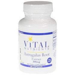 Vital Nutrient's Vital Nutrients - Astragalus Root Extract 300 mg. - 90 Vegetarian Capsules