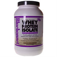 Bluebonnet Nutrition 100% Natural Whey Protein Isolate - Natural French Vanilla Flavor