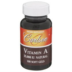 Carlson Laboratories Vitamin A 25000iu
