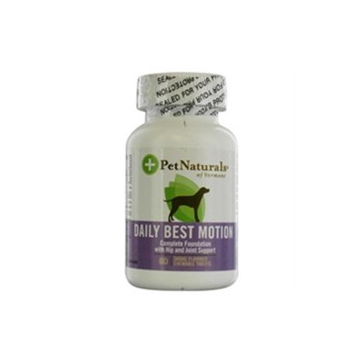 Pet Naturals of Vermont Dog Daily Motion 60 Tablets