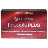 Essential Formulas Incorporated Dr. Ohhira`S Propolis Plus - 60 Capsules - Bee Products
