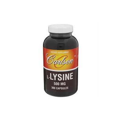 Carlson Labs, L-Lysine 500 mg 300 Capsules