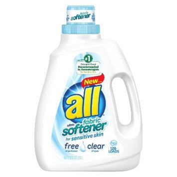 All Free & Clear Liquid Fabric Softener 96 oz