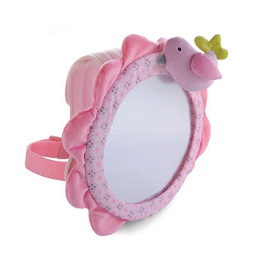 Carter's Bird Baby View Mirror (Pink)