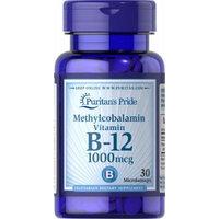 Puritan's Pride Methylcobalamin Vitamin B-12 1000 mcg-30 Microlozenges