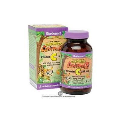 Bluebonnet Nutrition - Animalz Vitamin C Natural Orange Flavor - 90 Chewables