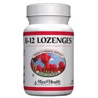 Maxi Health B12 Lozenges With Folic Acid And Biotin - 360 Chew