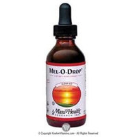 Liquid Melatonin Drops 2 Oz by Maxi Health Kosher Vitamins (1 Each)